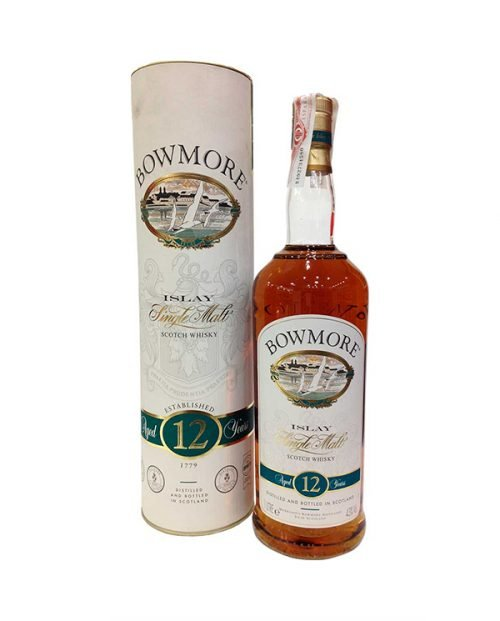 Bowmore 12 Años 1 L