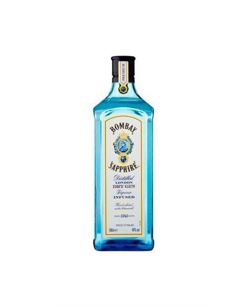 Ginebra Bombay Sapphire London Dry Gin 1 litro