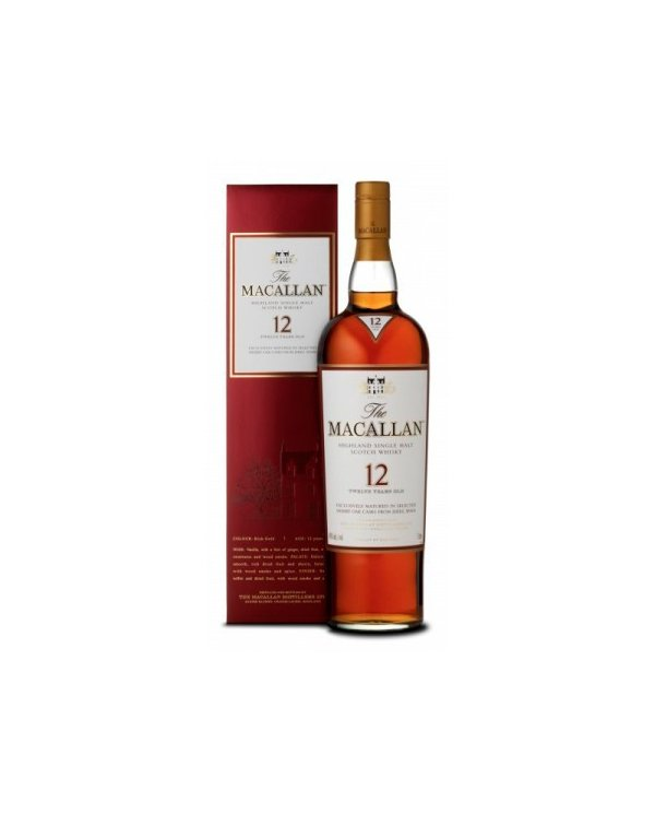 Macallan 12 Años Sherry OAK 70 CL