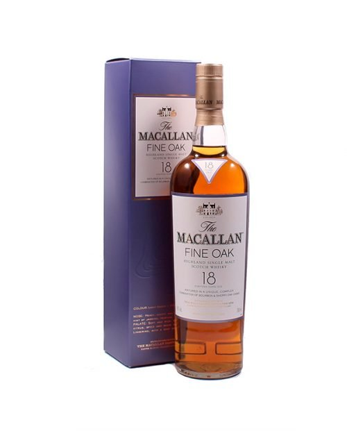 Macallan 18 Años Fine OAK 70 CL