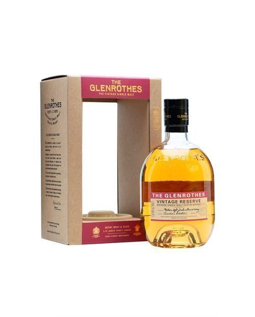 The Glenrothes Vintage Reserve 70 CL
